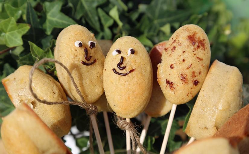 Knolli Pops – Lustige Kartoffelkuchen-Gesichter am Stiel
